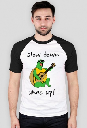 Slow down, ukes up!