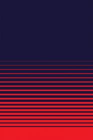 Maseczka Retro Ciemna Kolorowa w Paski