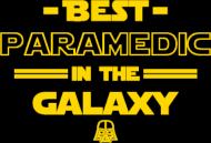 Best paramedic - koszulka damska