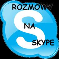 Rozmowna kobieta na Skype