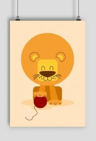 Przyjazny lew