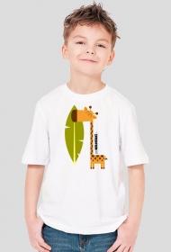 Przyjazna żyrafa
