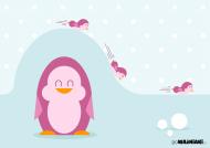 Wesołe pingwinki