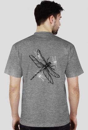 Ważka koszulka męska jasna