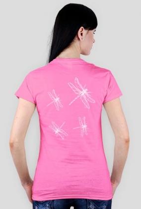Koszulka damska ważki