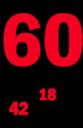 Kubek na 60-ste urodziny