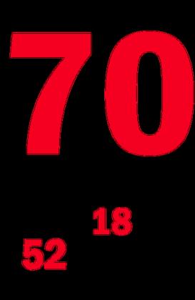 Kubek na 70-ste urodziny