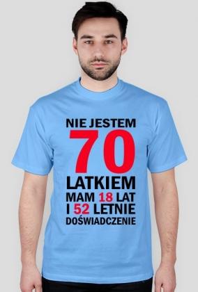 Koszulka na 70-ste urodziny