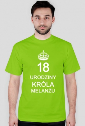 Koszulka na 18-ste urodziny