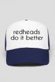 czapka redheads do it better różne kolory