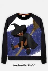 Mała Czarownica - Little Witch - duża bluza full print z większym nadrukiem