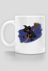 Mała Czarownica - Little Witch - kubek klasyczny leworęczny