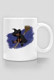 Mała Czarownica - Little Witch - kubek klasyczny praworęczny