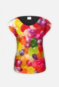 Landrynki - koszulka full print jednostronna
