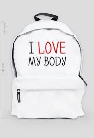 I Love My Body - Kocham Moje Ciało - plecak 42 cm