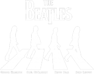 The Beatles black męska koszulka
