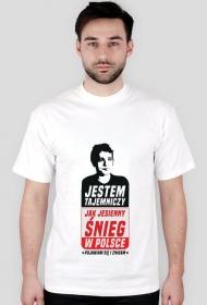 Jesienny śnieg w Polsce - T-shirt