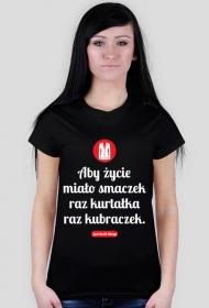 Aby życie miało smaczek - koszula damska