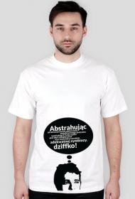 Abstrahując +18 - t-shirt męski