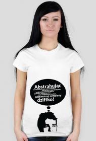 Abstrahując +18 - t-shirt damski