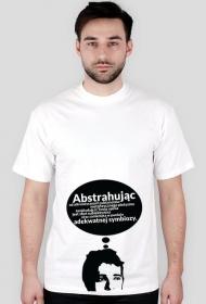 Abstrahując - t-shirt męski