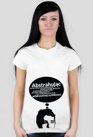 Abstrahując - t-shirt damski