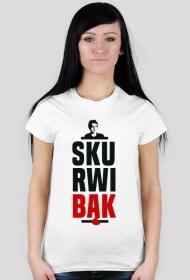 Skurwibąk - t-shirt damski