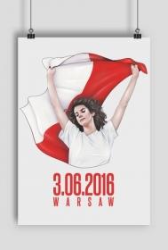 """Plakat A2 """"Warsaw"""""""