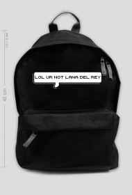 "Plecak 42cm ""lol ur not ldr"""