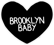 "Plecak 42cm ""Brooklyn Baby"" transparent"