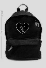 """Plecak 42 """"Lana Del Rey"""" transparent"""