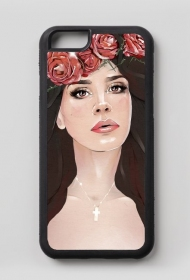 "iPhone 6/6S case ""Bloody Rose"""
