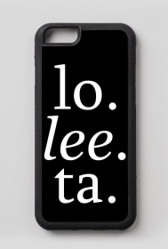 "iPhone 6/6S case ""lo. lee. ta."""