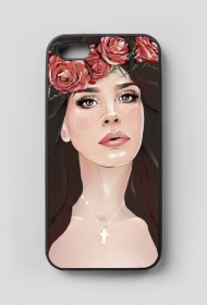 "iPhone 5/5S case ""Bloody Rose"""