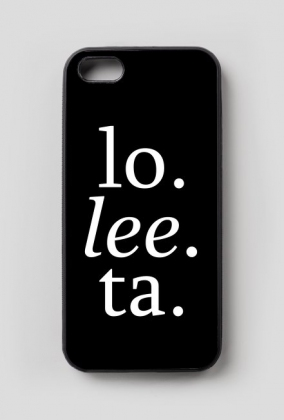 "iPhone 5/5S case ""lo. lee. ta."""