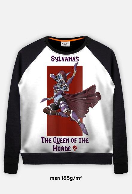 Bluza męska longsleeve Queen Sylvanas