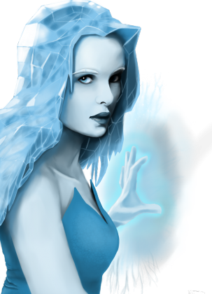 Bluza damska Killer Frost bez tła
