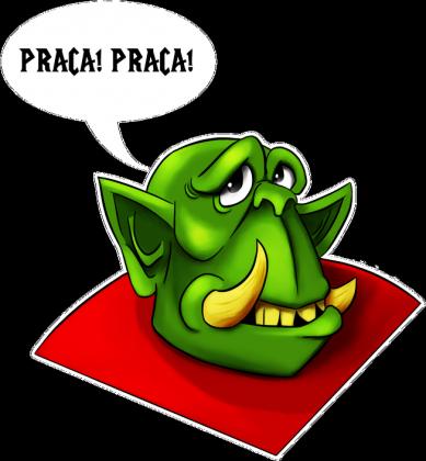 Koszulka damska Warcraft Peon wersja z jasną obwódką