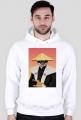 Bluza z kapturem Samurai Cat