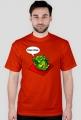 Koszulka męska Warcraft Peon wersja z czarną obwódką