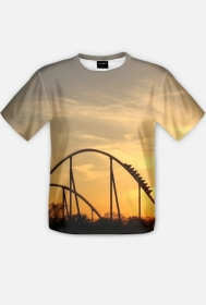 T-Shirt Męski Full Print Testing Attractions