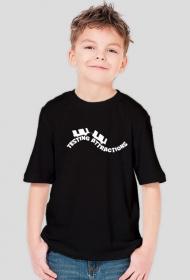 T-Shirt Chłopięcy Testing Attractions