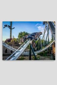 Puzzle Magnetyczne Heide-Park (63 elementy)