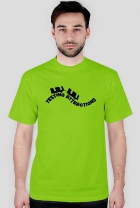 T-Shirt Męski Testing Attractions