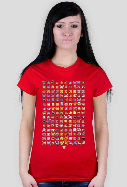 Koszulka pokemon go 1 generacja