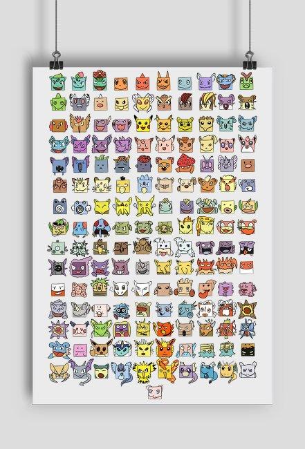 Plakat Pokemon