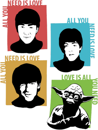 Love is all you need Yoda Star Wars