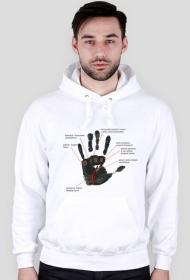 bluza dłoń