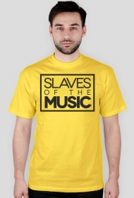 Slaves of the music - biała/kolor