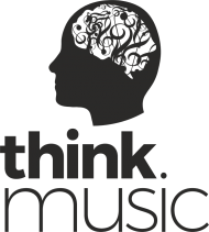 Think music - biała/kolor